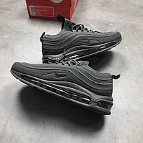 Мужские кроссовки Nike Air Max 97 Ultra Grey, Найк Аир Макс 97, фото 3