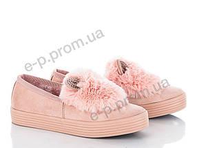 Угги женские Violeta (20-416 pink) | 8 пар (Код 16969)