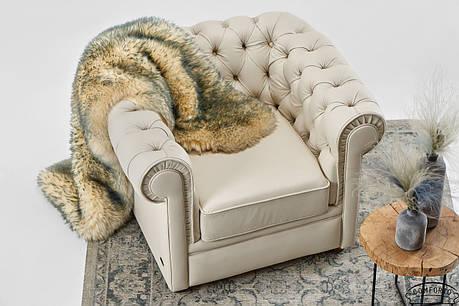 "Кожаное мягкое кресло ""Chester Chicago"" (Честер Чикаго) (105см), фото 2"