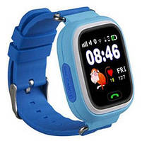 Детские смарт часы с GPS трекером Smart Baby Watch Q90S синие