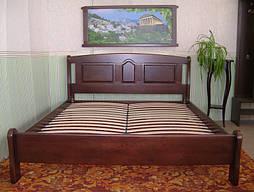 """Кровать """"Афина"""" (200*160), массив дерева - ольха, покрытие - № 11."""