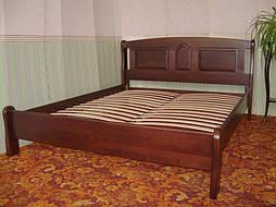 """Кровать """"Афина"""" (200*160), массив дерева - ольха, покрытие - № 11. 1"""