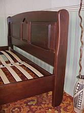 """Кровать """"Афина"""" (200*160), массив дерева - ольха, покрытие - № 11. 2"""