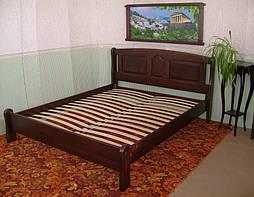 """Кровать """"Афина"""" (200*160), массив дерева - ольха, покрытие - № 11. 4"""