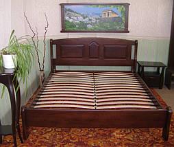 """Кровать """"Афина"""" (200*160), массив дерева - ольха, покрытие - № 11. 5"""