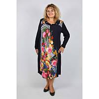 Платье Элина большой размер 60, 62, 64, 66. Женское платье батал