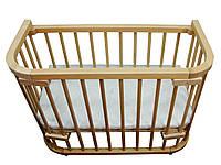 Кроватка приставная Baby dream Maxi 100×55 лакированная