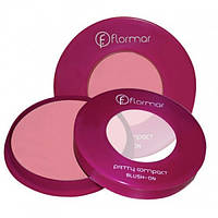 Румяна  Pretty Compact Blush-on Flormar, фото 1