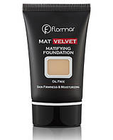 Тональный крем Flormar Mat Velvet Matifying Foundation (Флормар Мат Велвет)