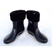 Ботинки женские черные( утепленные)