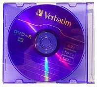 "Диск DVD+R ""Verbatim"" 4.7Gb Slim"