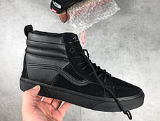 Мужские кеды Vans x The North Face Sk8-Hi Black Vn0a3dq5qwr,  Ванс Sk8-Hi, фото 2