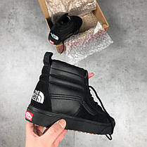 Мужские кеды Vans x The North Face Sk8-Hi Black Vn0a3dq5qwr,  Ванс Sk8-Hi, фото 3