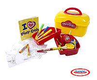 Набор для творчества Play-Doh Арт - Саквояж (CPDO013-PE)