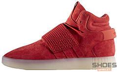 Мужские кроссовки Adidas Tubular Invader Strap Red