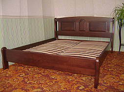 """Кровать """"Афина"""" (200*160), массив дерева - ольха, покрытие - № 11. 7"""