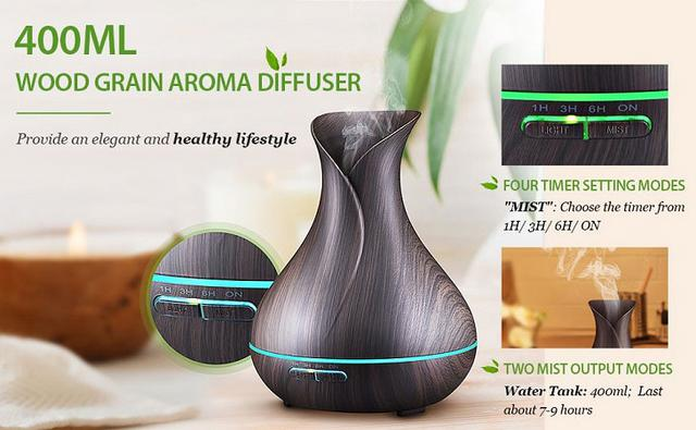 Ароматический диффузор-увлажнитель воздуха