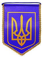 Вымпел Украины 18см*23см  (В3Б кр)