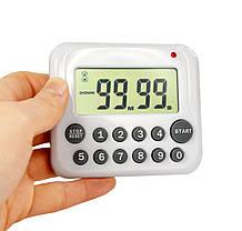 Цифровой LCD таймер «PS-367» белый