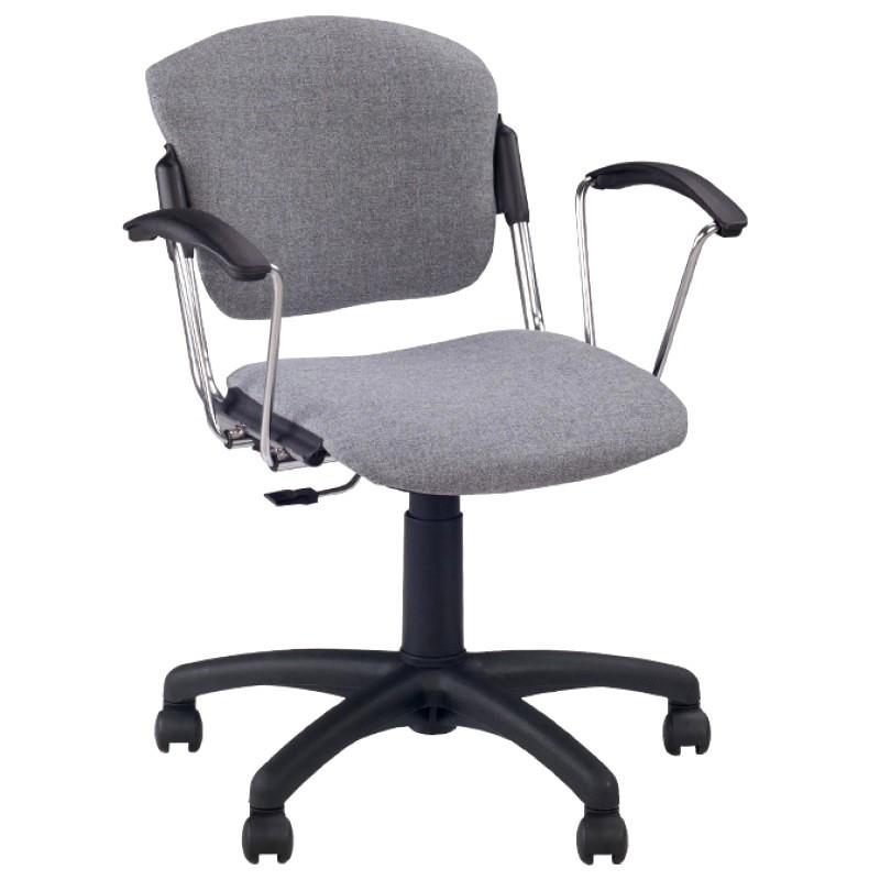 Кресло для персонала Era GTP CHROME(Эра) с подлокотниками Новый стиль