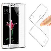 Силиконовый чехол Xiaomi Mi Max Прозрачный