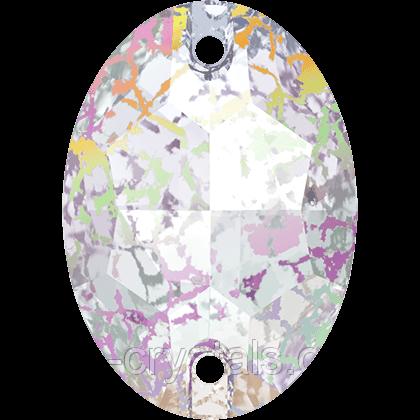 Стразы Сваровски пришивные 3210 Crystal White Patina