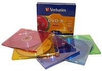 "Диск DVD-R ""Verbatim"" 4.7Gb Slim"