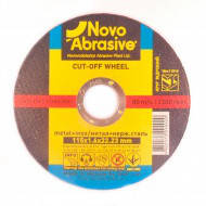 Диск отрезной по металлу NOVO ABRASIVE 115х1.6х22мм