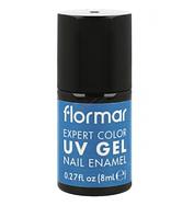 Гель-лак для ногтей Flormar Expert Color UV Bondi Blue  №21