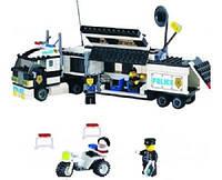 """Конструктор BRICK (LEGO) """"Мобильный штаб полиции"""" 325 деталей, 457832/128"""