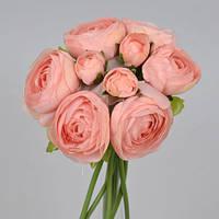 Букет ранункулус розово-коралловый