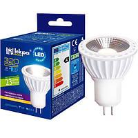 Лампа светодиодная MR16 220В 5Вт 4000К GU5.3 LED TM ISKRA