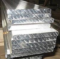 Алюминиевая полоса 100x25мм. (шина смуга штаба) анодированный и без покрытия