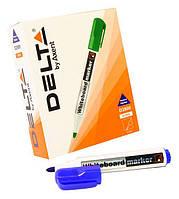 Маркер для доски 2мм Axent D2800 board синий/12