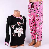 Детский комплект штаны+кофта для девочки Турция. Kids Angel C-808. Размер 3-5 лет.