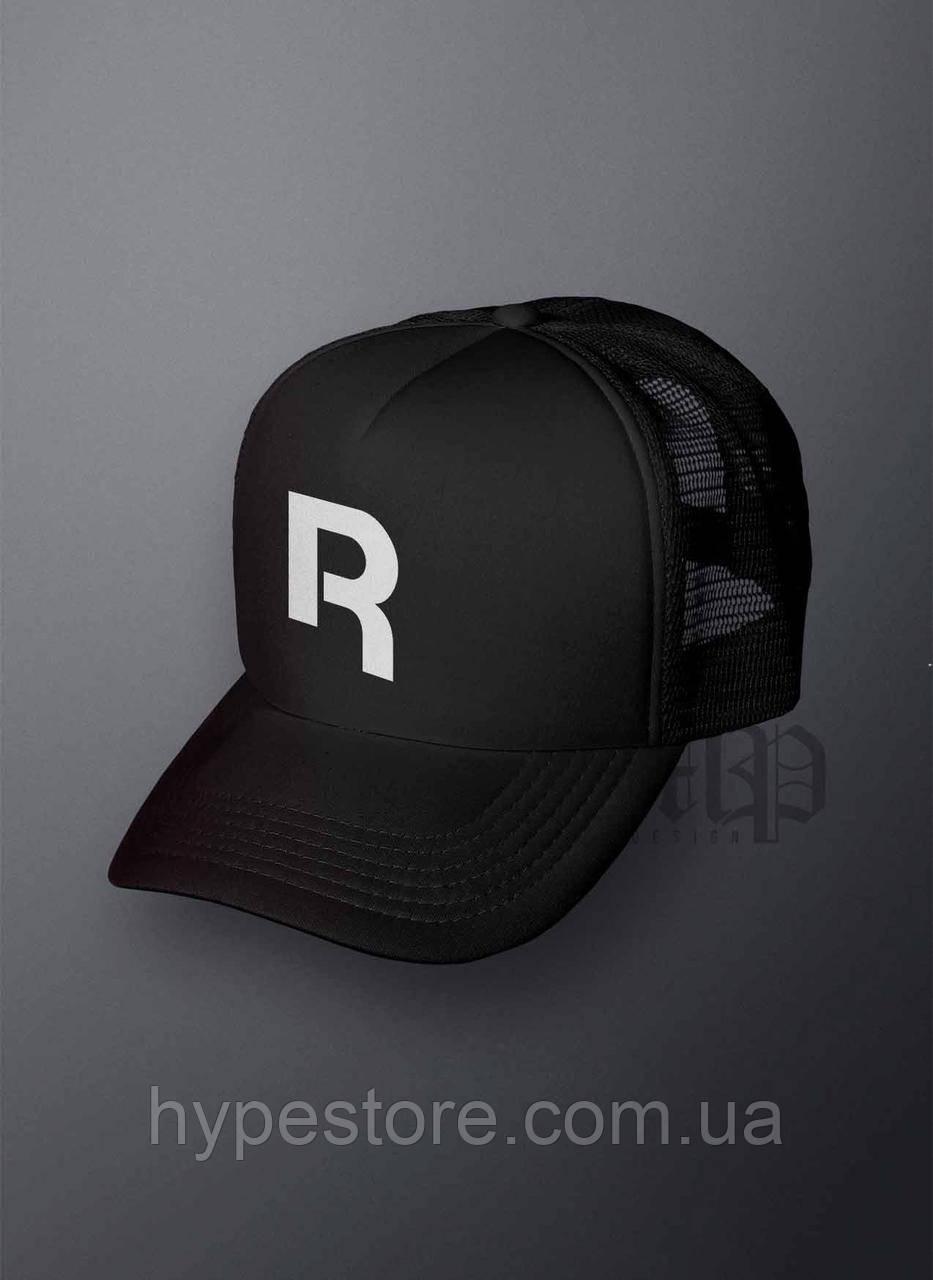 Кепка, бейсболка Reebok (черный), Реплика