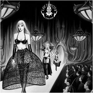 Музыкальный CD-диск. Lacrimosa - Fassade
