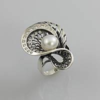Кольцо серебряное Окинава