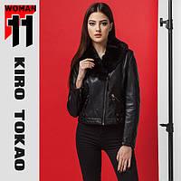 11 Kiro Tokao | Женская куртка весна-осень японская 4624 черный