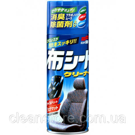 Очиститель обивки салона пенный антибактериальный FABRIC SEAT CLEANER, фото 2