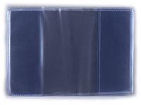 Обложка для паспорта 301014 ВП (прозр.)  /100