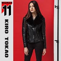11 Kiro Tokao | Женская куртка весна-осень 4970 черный