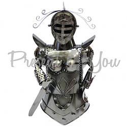 Подставка для бутылки «Рыцарь» 16х16х33 см.