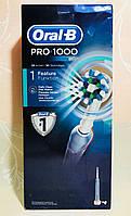 Электрическая аккумуляторная зубная щетка Oral-B PRO 1000, фото 1