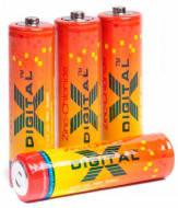 Батарейка X-DIGITAL солевая мизинчиковая R3 AAA(60шт в уп)