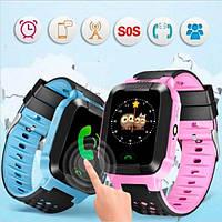 Модный умный гаджет детские часы Smart Baby Watch Y22+GPS трекер и фонарик. Отличное качество. Код: КГ3192