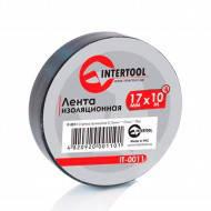 Изолента IT-0026 черная Intertool