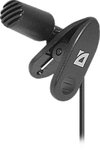 Мікрофон комп'ютерний Defender MIC-109 чорний, на прищіпці, 1,8 м
