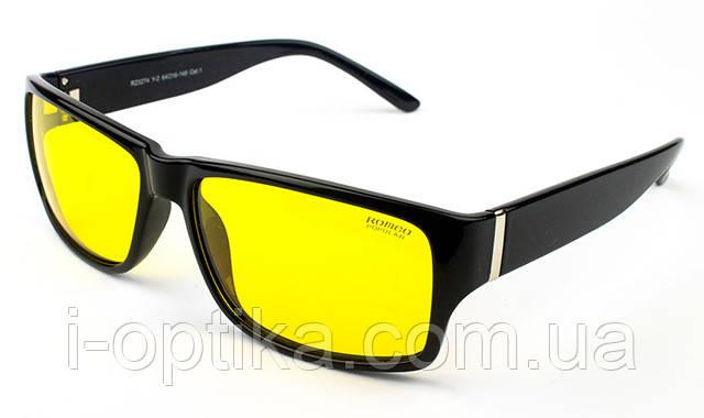 Желтые ночные водительские очки