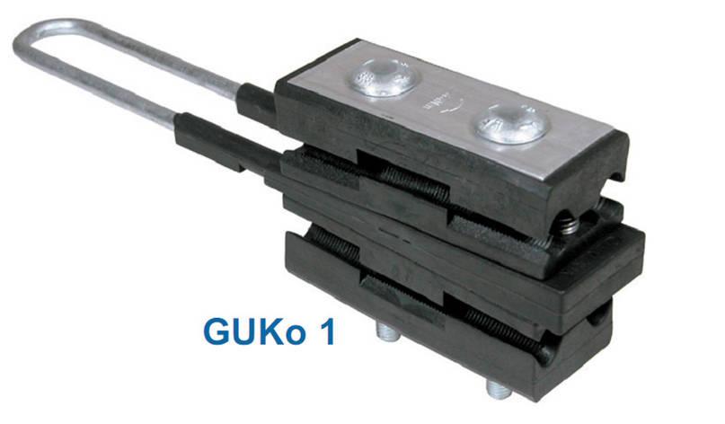 Натяжной зажим для магистральных линий GUKo1 (SICAME), фото 2